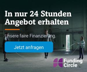 Funding Circle für Selbständige und Kleinunternehmen: Jetzt kostenloses Angebot einholen (hier klicken)